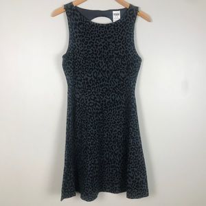 PINK by VS Black leopard print summer dress Size M